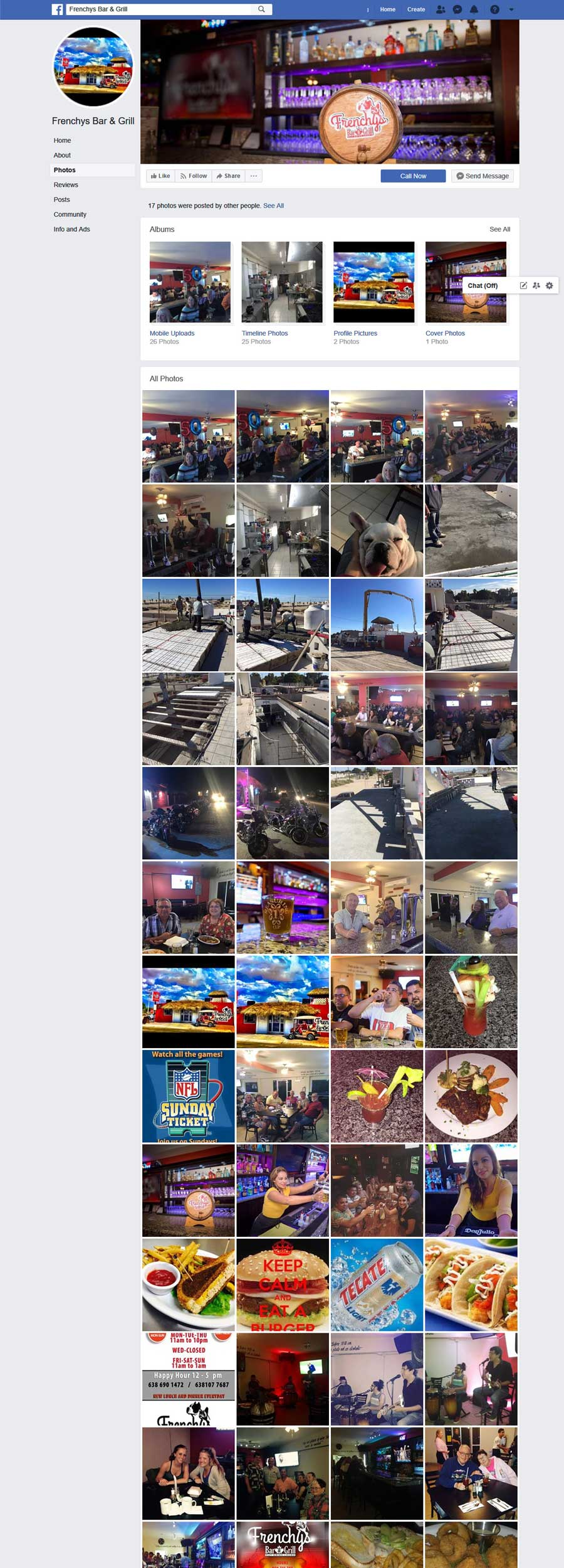 Restaurant Frenchy's Bar and Grill in Rocky Point Mexico (Puerto Penasco). Click the Picture to Visit  Frenchy's Bar and Grill Facebook Page Site!