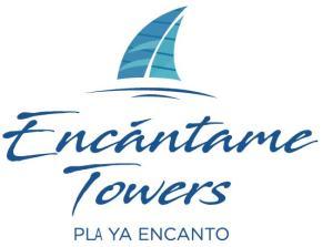 Logo for Encantame Towers' Website in Rocky Point Mexico, Puerto Penasco.