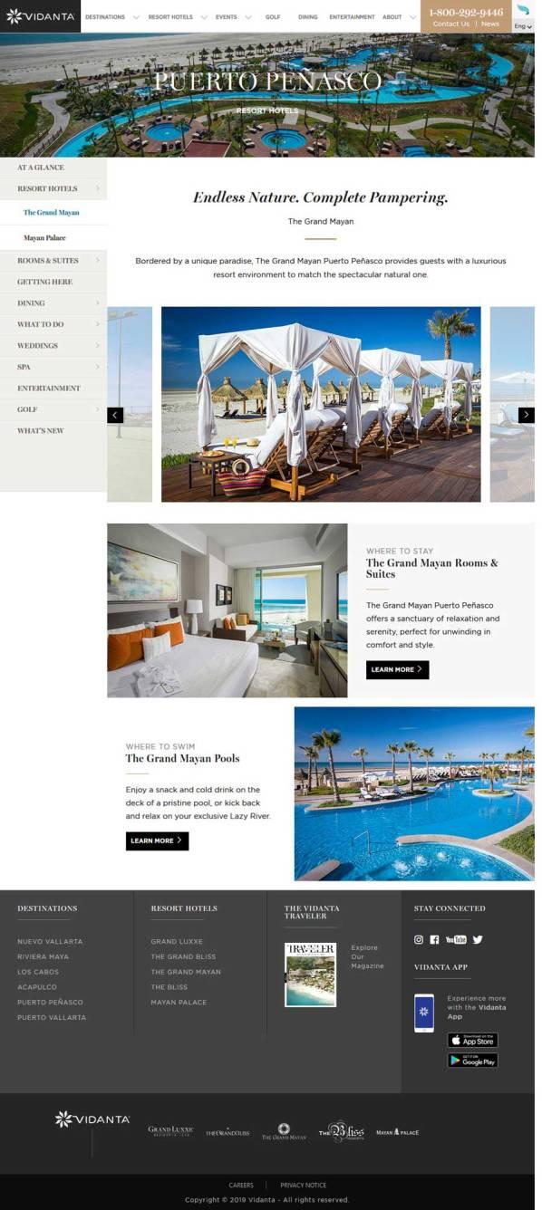 Vidanta's Grand Mayan Resort in Rocky Point Mexico (Puerto Penasco). Click here to visit Vidanta's Grand Mayan Resort website.