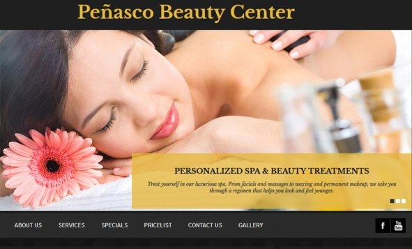 Penasco Beauty Center in Rocky Point (Puerto Penasco). Click here to visit Penasco Beauty Center's website.